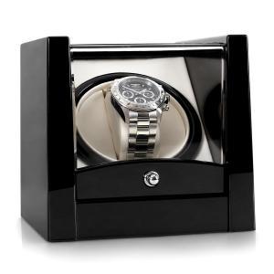 Klarstein 8PT1S, pohyblivý stojan na hodinky, 1hodinky, čierny klavírny lak