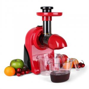 Klarstein Fruitpresso Rosso, odšťavovač,150 W, 80 ot./min.