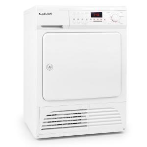 Klarstein Savanna, 8 kg, B, kondenzátorová sušička, biela