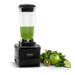 Klarstein Herakles-4G-B, 1500 W, 2 litre, stolný mixér, čierny, green smoothie, bez BPA