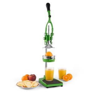 Klarstein TriJuicer, zelený, pákový lis na odštavovanie, krájač hranolčekov, krájač jablka