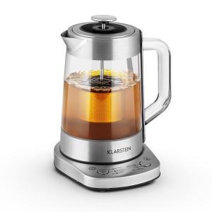Klarstein Assam Express, 1,5 litra, 1500 W, varič vody, varič čaju, nerezová oceľ, sitko na čaj