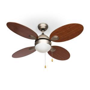 Klarstein Valderama, čerešňové drevo, stropný ventilátor, 42