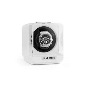 Klarstein Eichendorff, biely, pohyblivý stojan na hodinky, 1 hodinky, 4 režimy