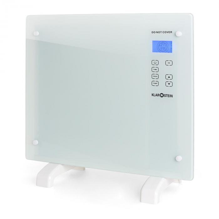 ACO-HT006GL-W, 1000 W, konvektor, sklo/biela farba