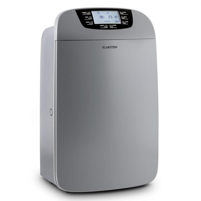 Drybest 40, odvlhčovač vzduchu, čistič vzduchu, 40 l/24 h, čierno-sivý